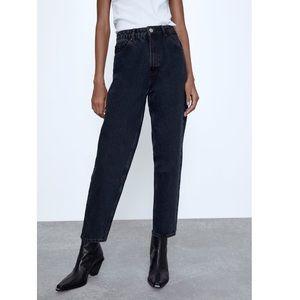 Zara Mom Fit Jeans in Deep Blue 💙